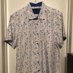 Azaro Uomo short sleeve button down